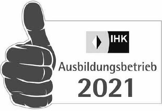 IHK – Ausbildungsbetrieb 2021